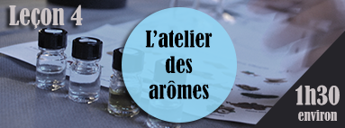 Leçon 4 - Aromas workshop